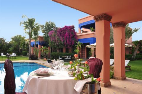 villa achat haut de gamme Maison d'hôtes Marrakech Centre ville Targa