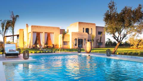 Achat villa Luxe et prestige Marrakech Extérieur Route Ourika