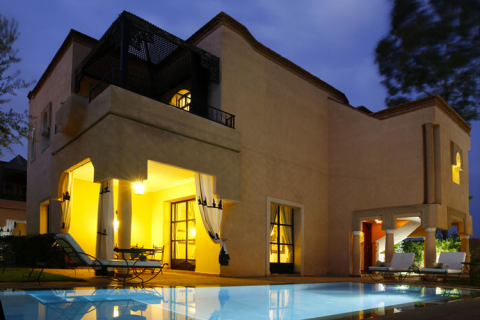 acheter maison Marocain épuré Marrakech Extérieur Route Ouarzazate