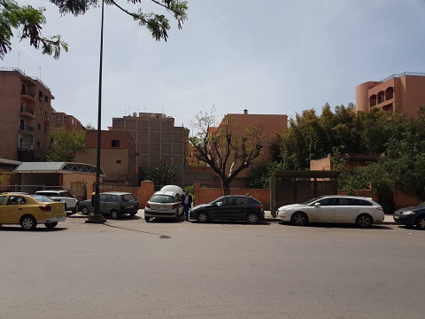 Terrain à vendre Zone Immeuble Marrakech Centre ville Guéliz