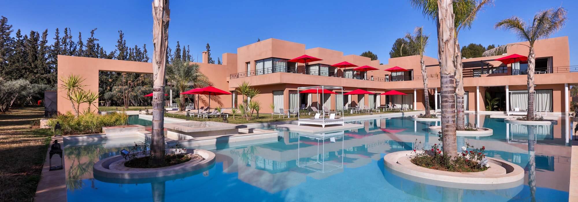 vente Palais d'hôtes Contemporain palmeraie marrakech