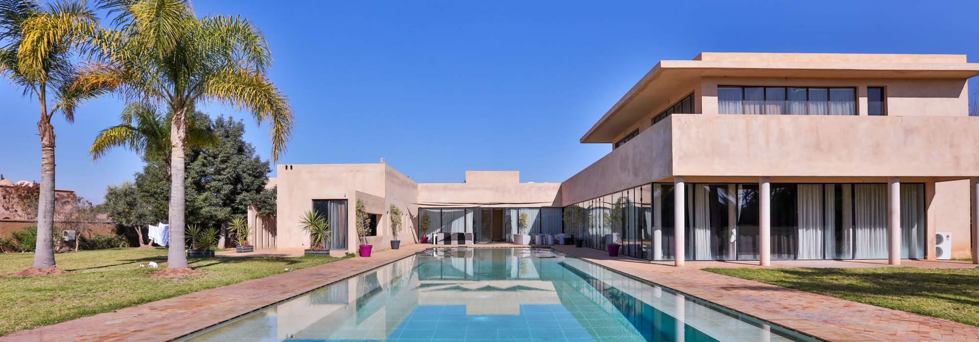 villa de luxe contemporaine à vendre