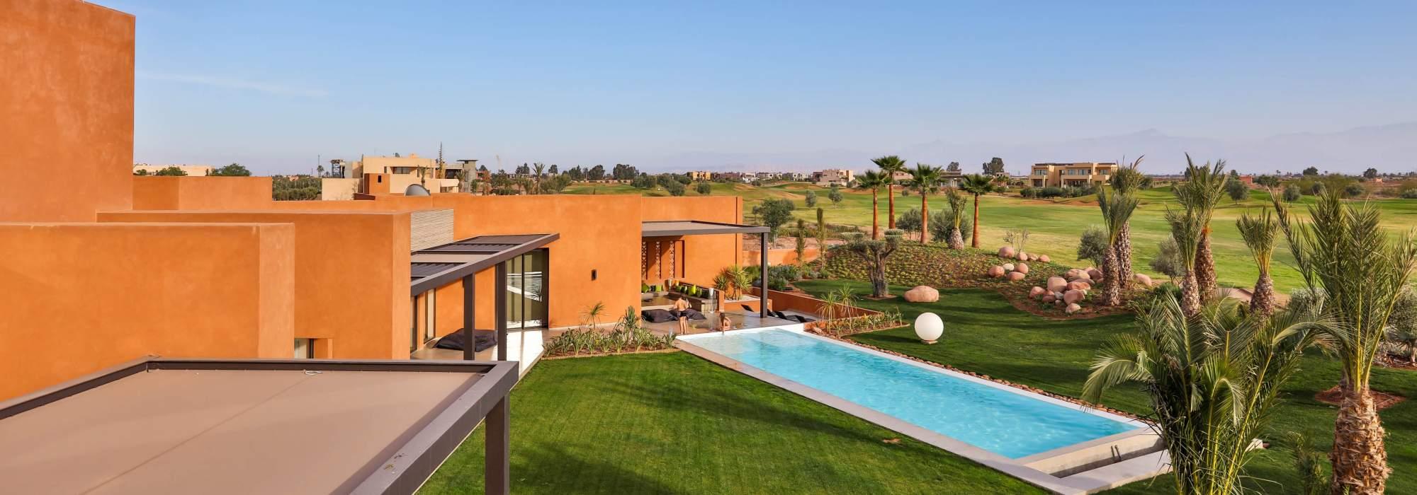 Villa Contemporaine a vendre golf marrakech