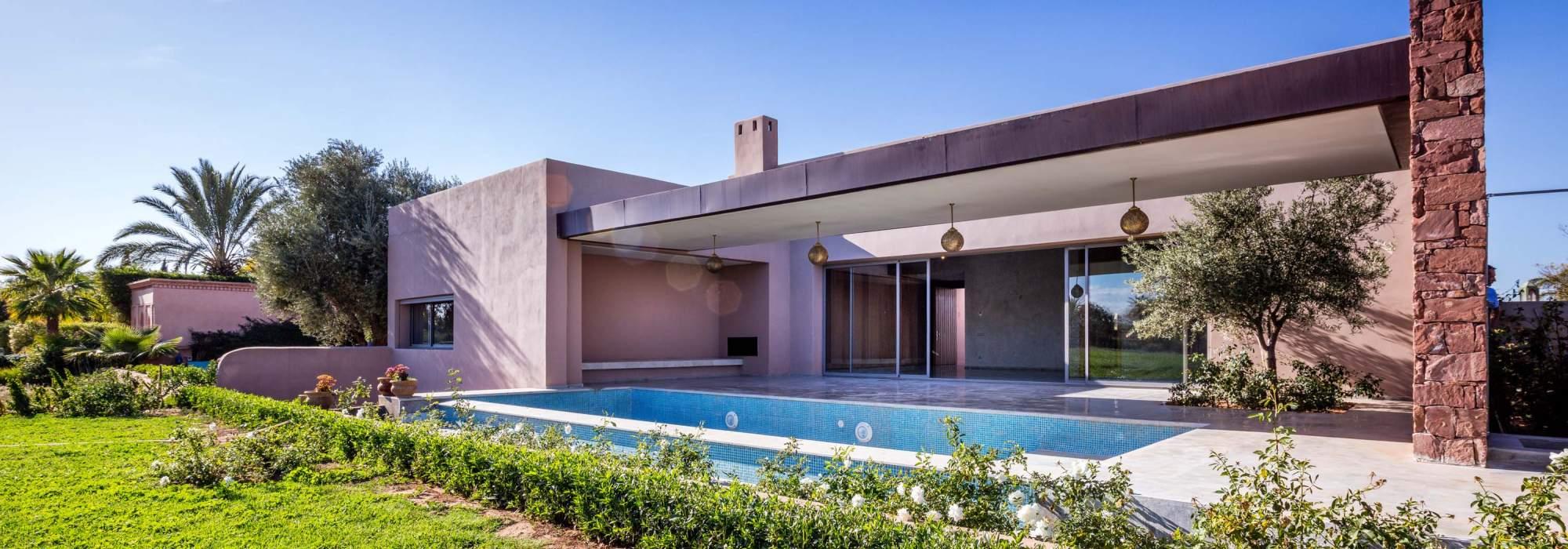 Villa Contemporaine a vendre golf amelkis marrakech