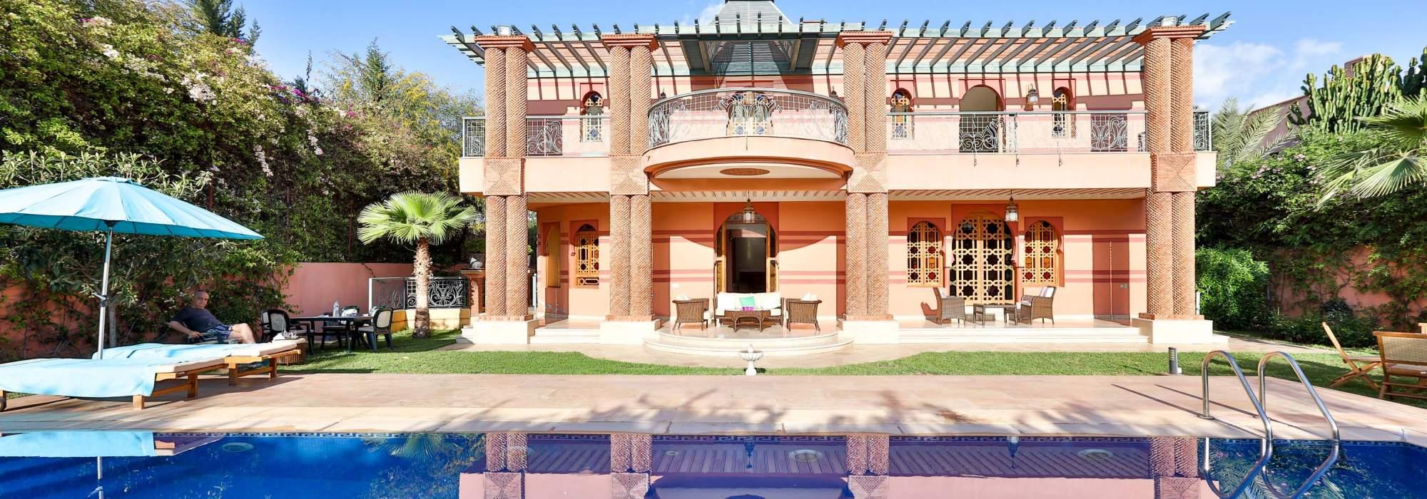 villa marocaine a vendre sur golf d'Amelkis MARRAKECH