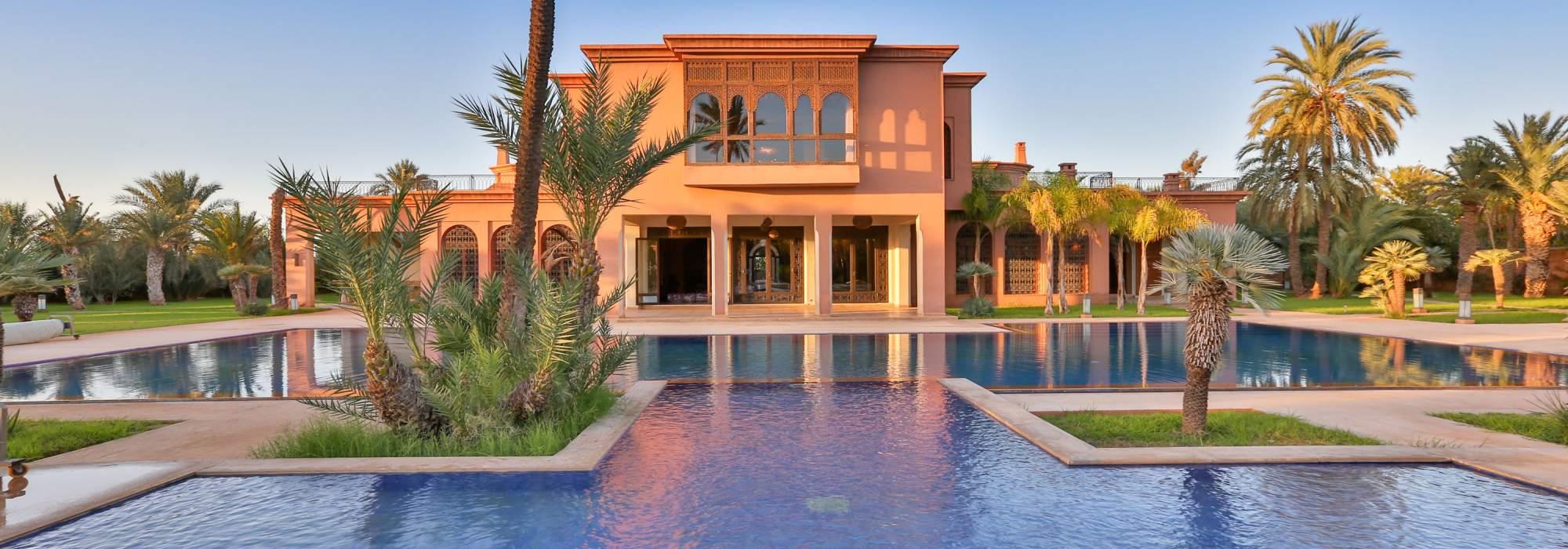 demeure de prestige marocaine palmeraie