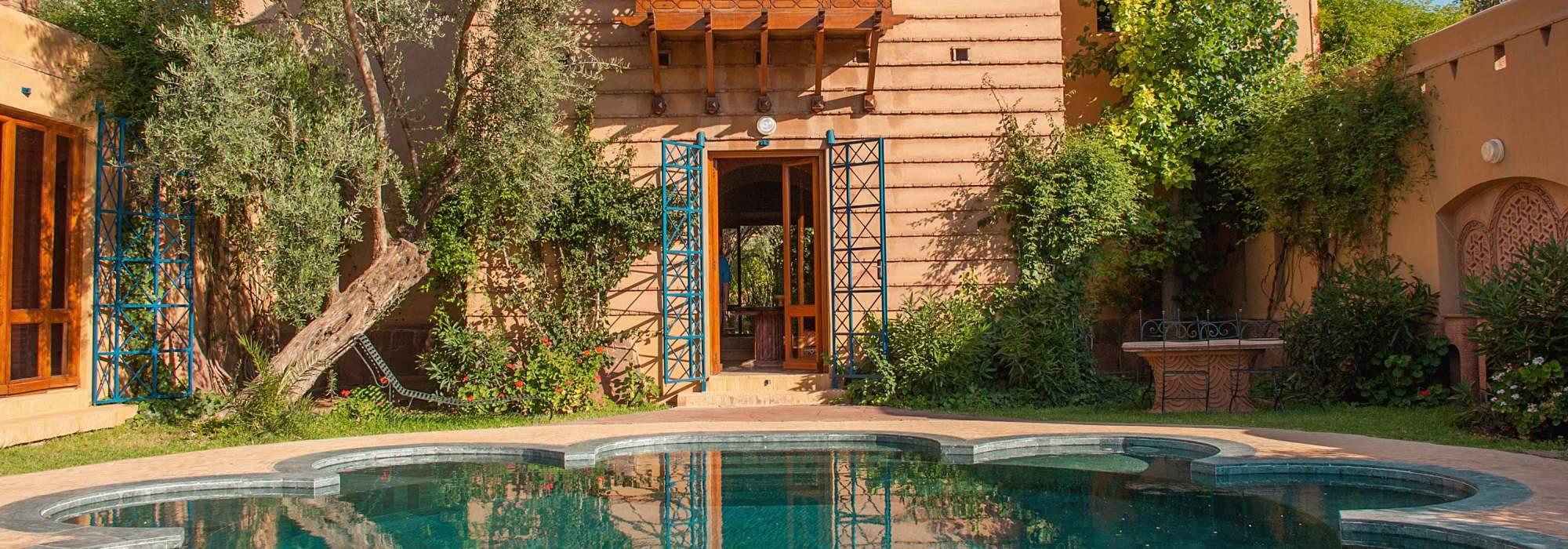 vente villa marocaine golf d'amelkis marrakech