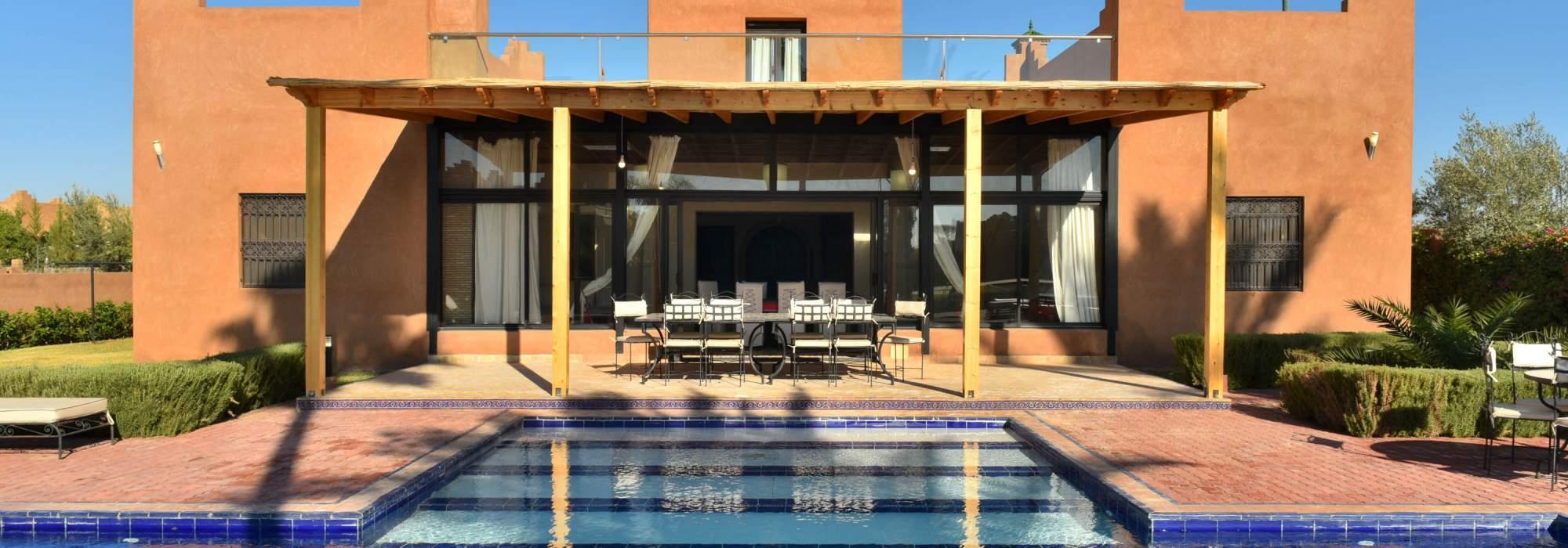 villa a vendre extérieur Marrakech