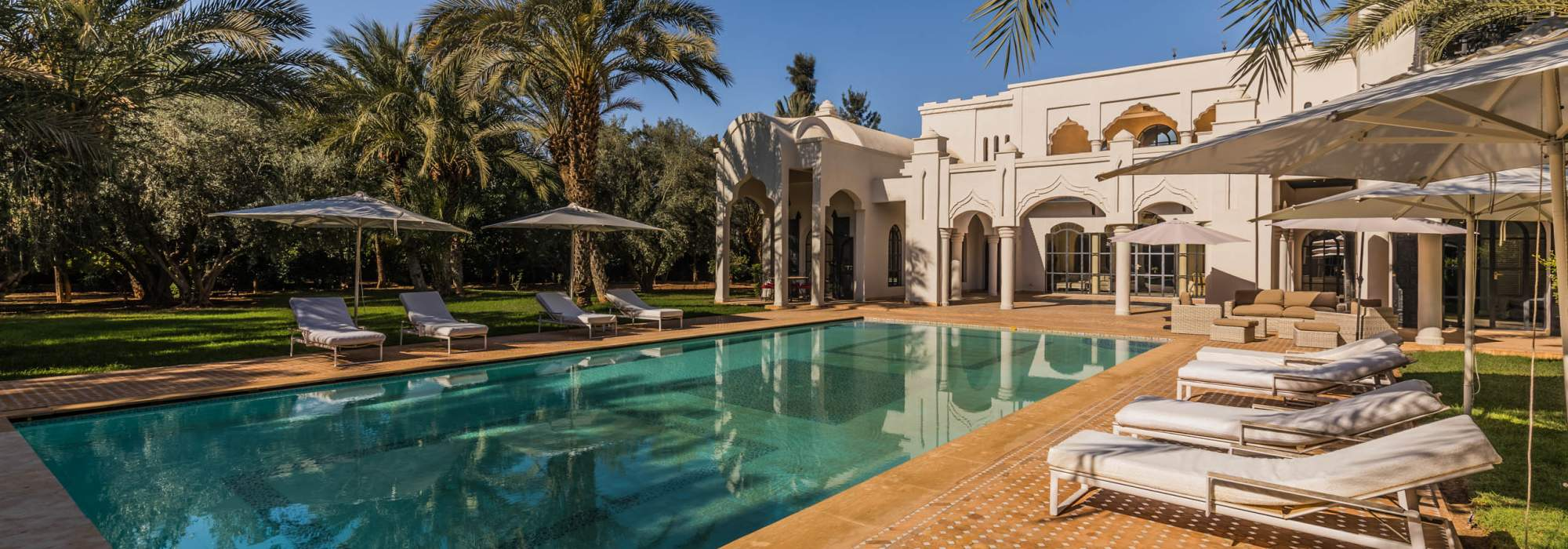 Palais Arabo-Andalous a vendre golf marrakech