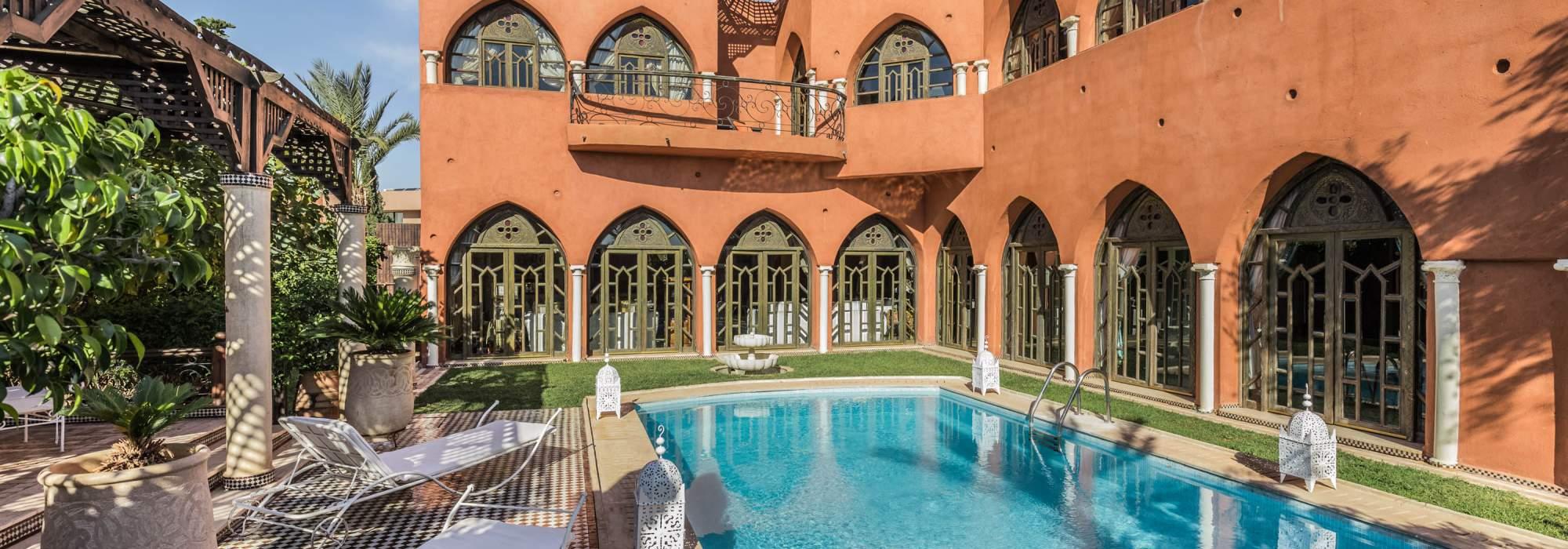 Belle villa à vendre  sur le Golf d'Amelkis  Marrakech