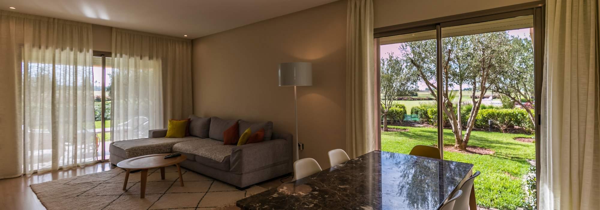 appartement a vendre front golf marrakech