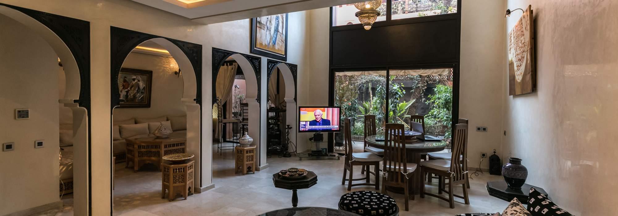 Appartement en duplex de prestige a vendre centre ville marrakech