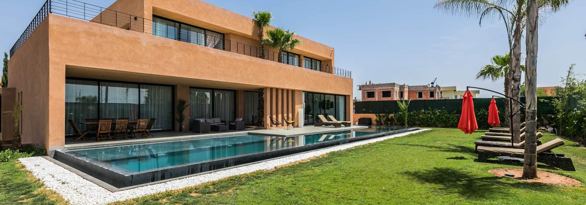 vente villa contemporaine golf amelkis marrakech