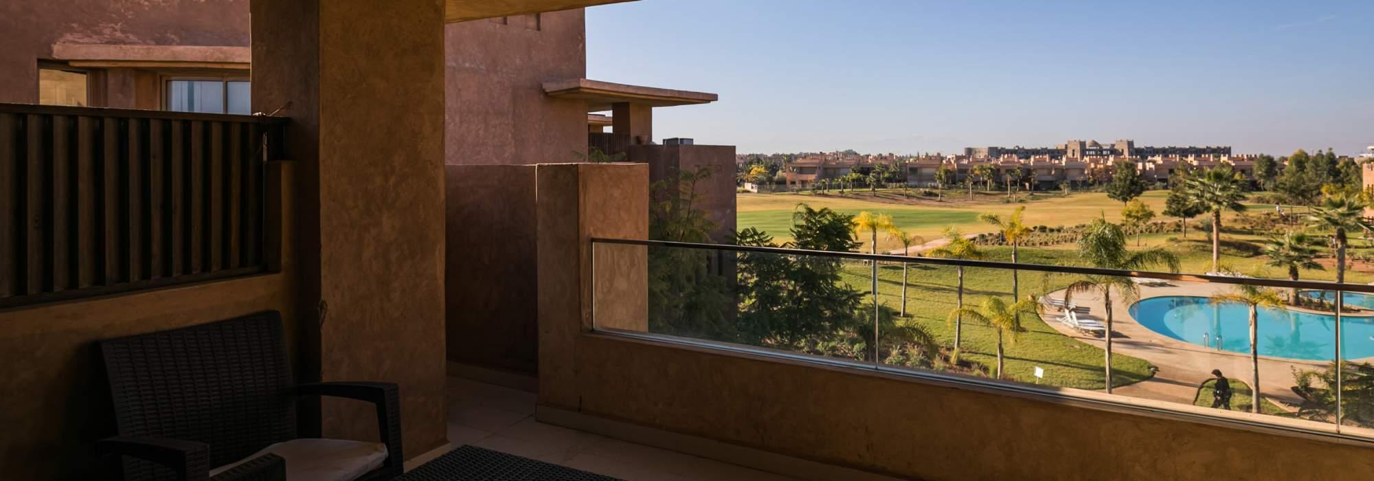 luxueux appartement à vendre golf  marrakech