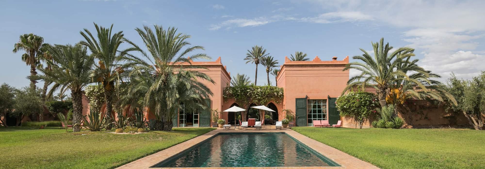 vente palais marocain palmeraie marrakech