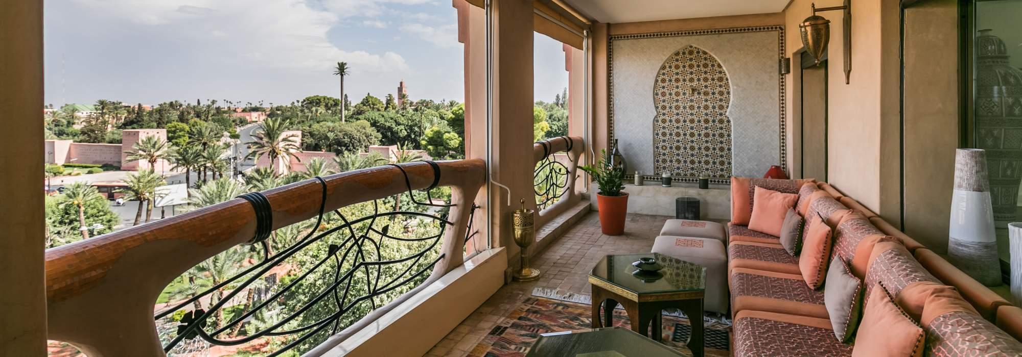 triplex  de luxe a vendre marrakech Hivernage