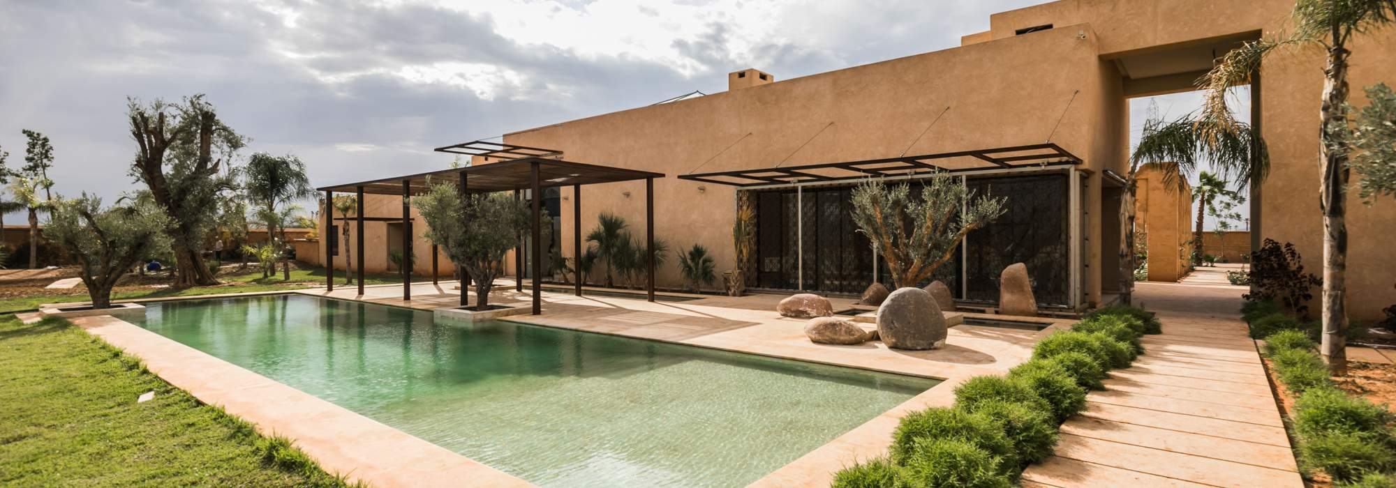 vente villa contemporaine palmeraie marrakech