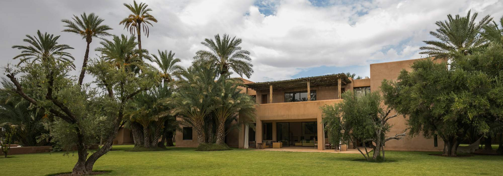 vente villa contemporaine palmeraie marrakech