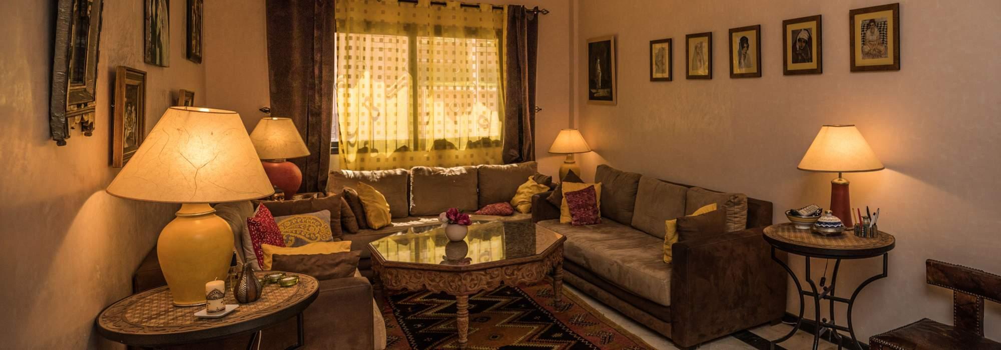 appartement a vendre route de fes marrakech