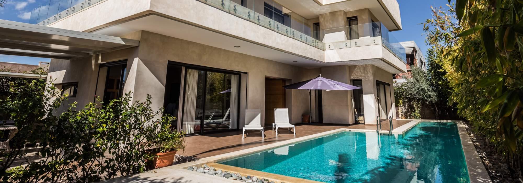maison a vendre contemporain  golfs amelkis marrakech