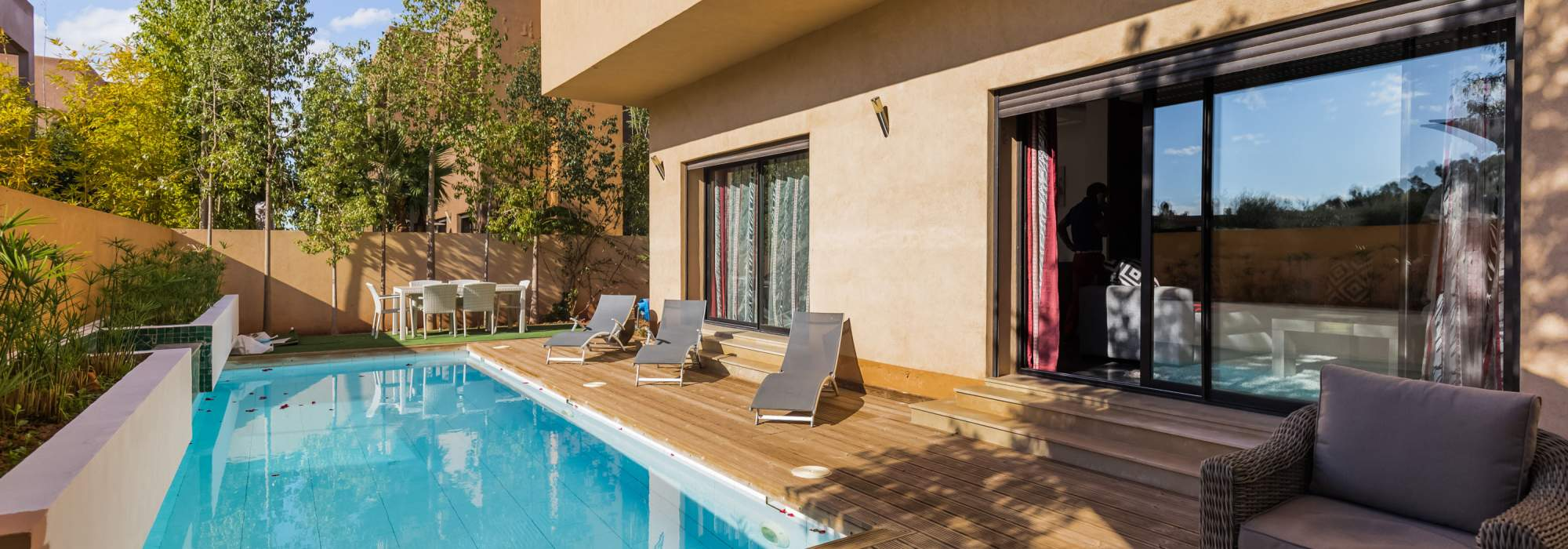 vente villa contemporaine golf amelkis marrakech