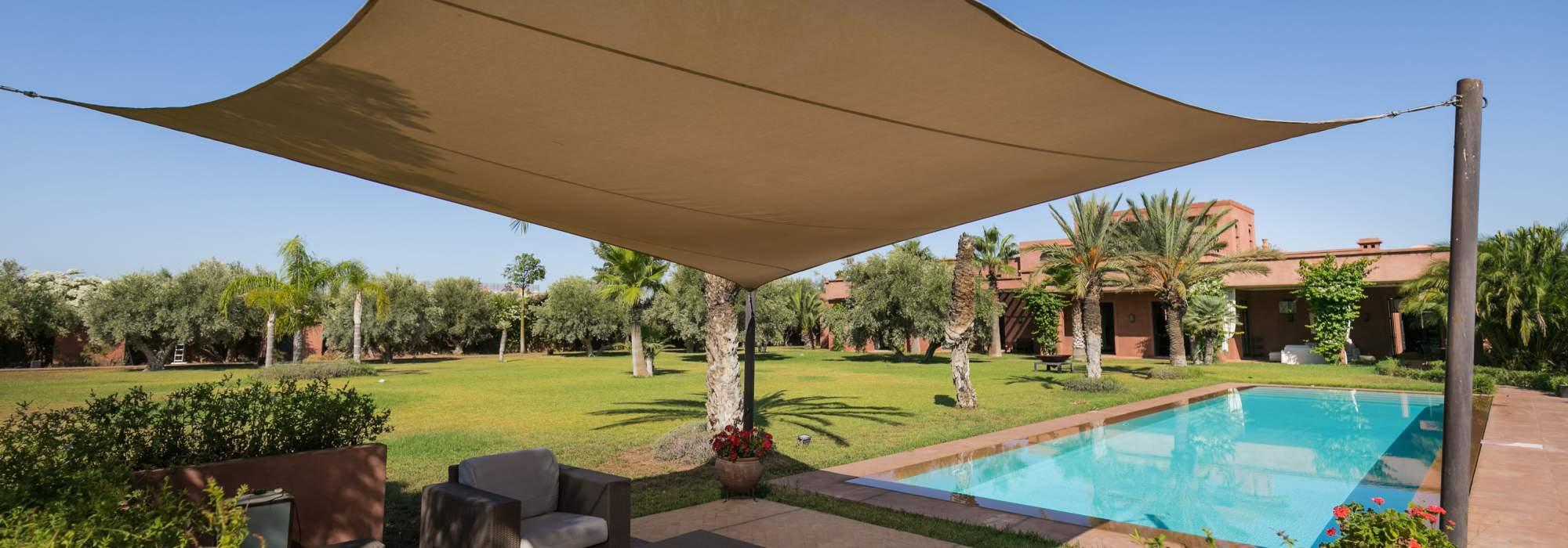 villa a vendre route de l'ourika Marrakech