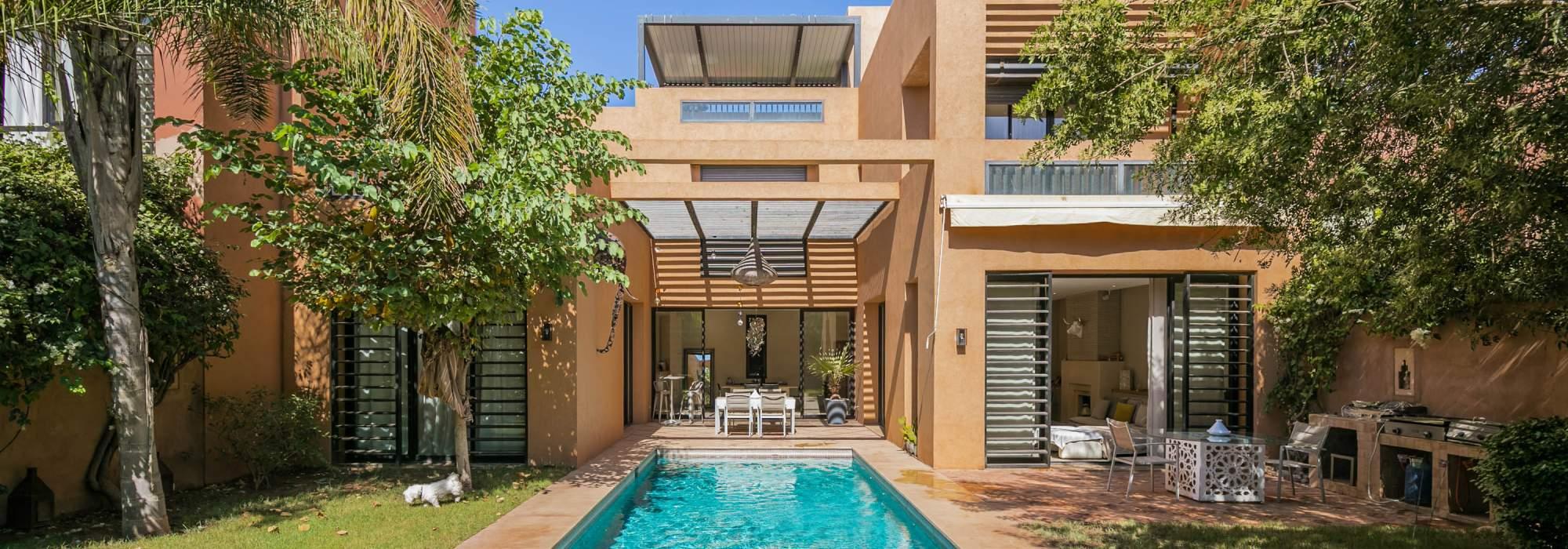 Très belle villa contemporaine a vendre sur golf  Marrakech