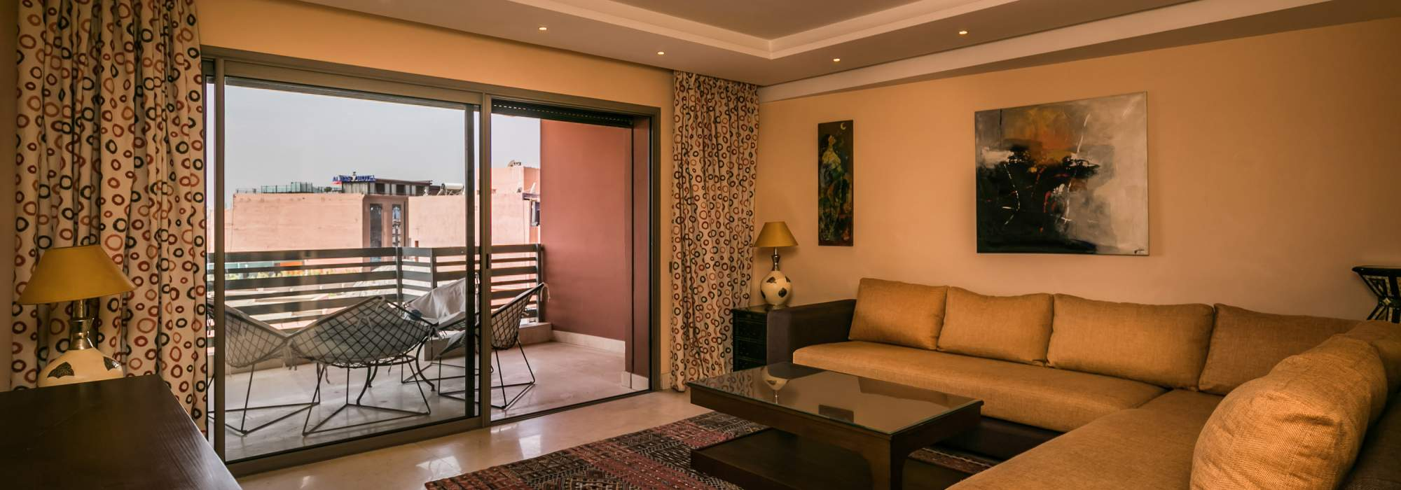 contemporain appartement a vendre centre ville marrakech