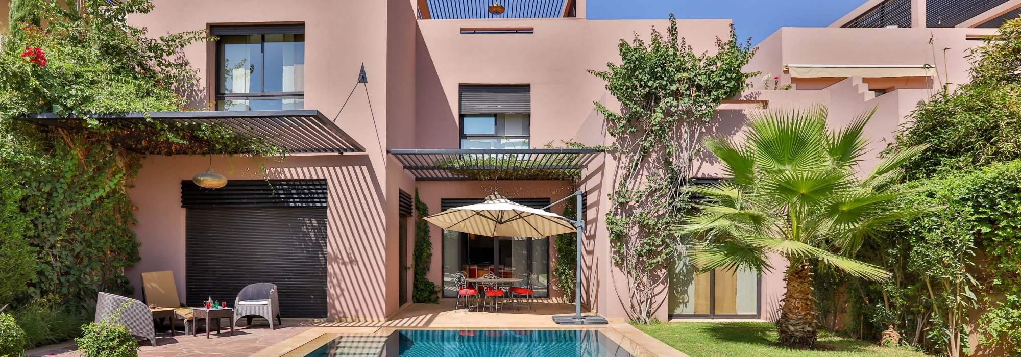 villa golfique a vendre marrakech