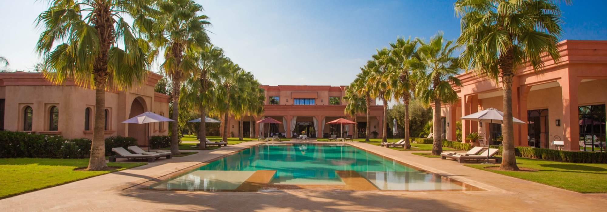 villa a vendre route de fes marrakech