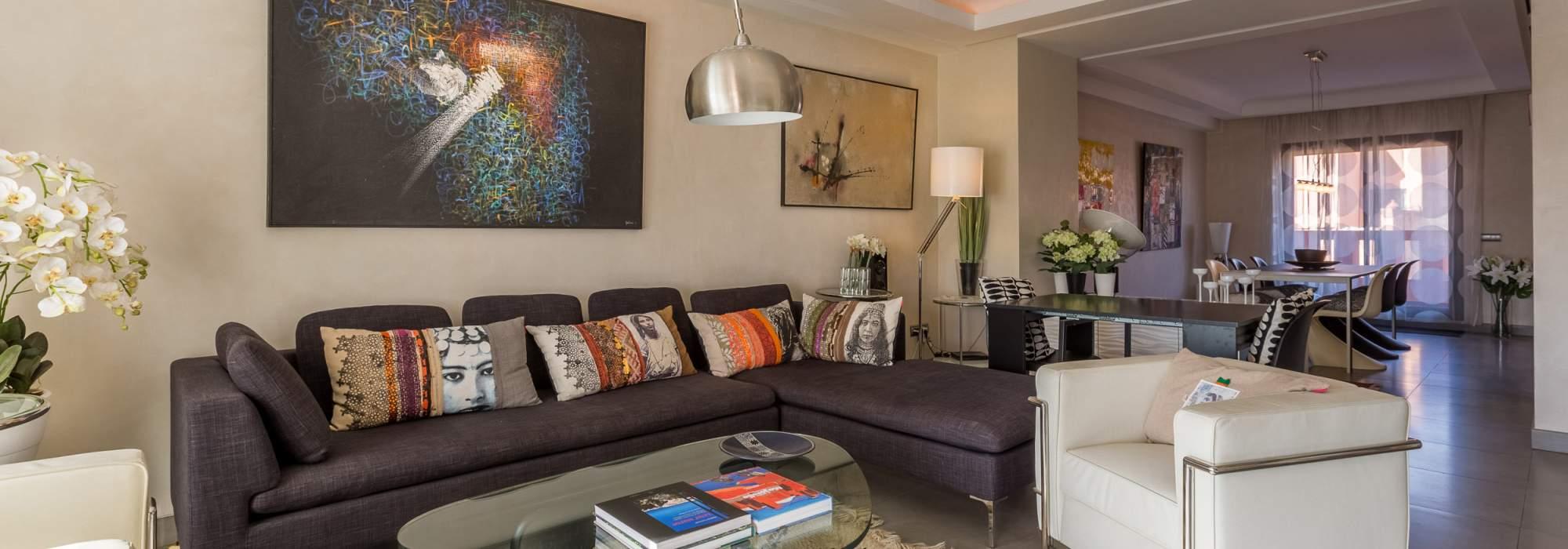 Somptueux Duplex a vendre  face au jardin Majorelle marrakech