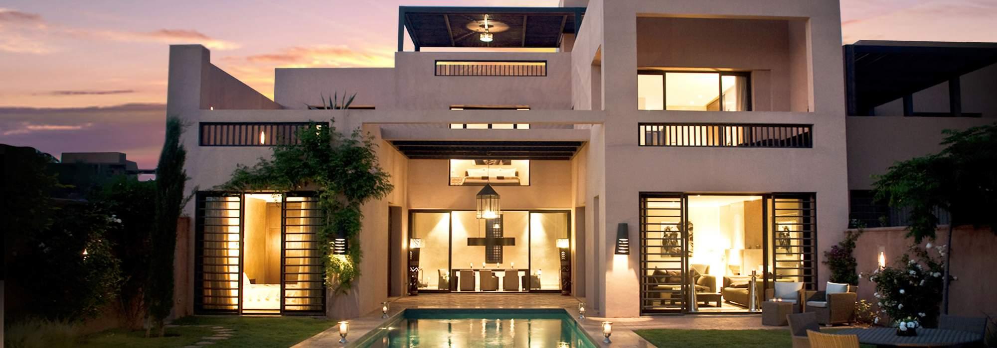 Villa Riad neuve sur golf proche de marrakech
