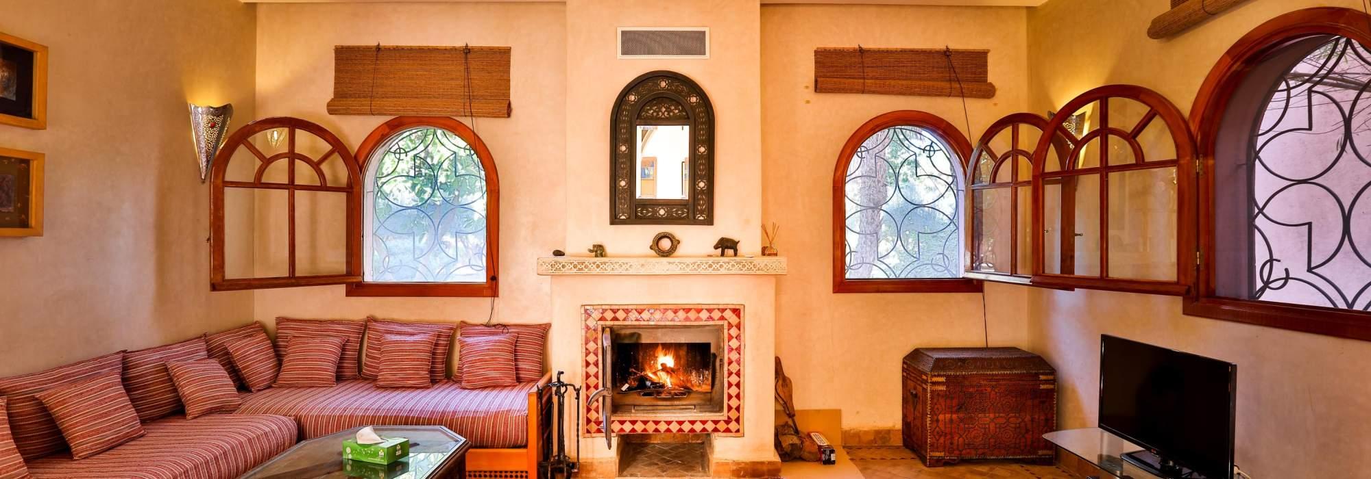 coquette villa riad situé à la palmeraie Marrakech