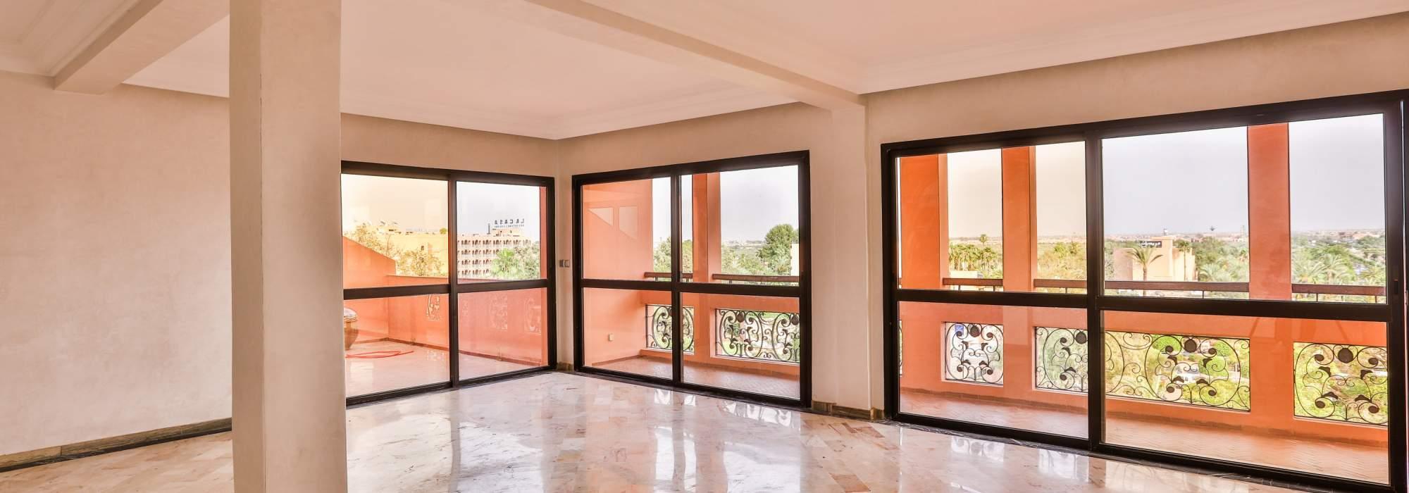 vente appartement de prestige a l'hivernage marrakech