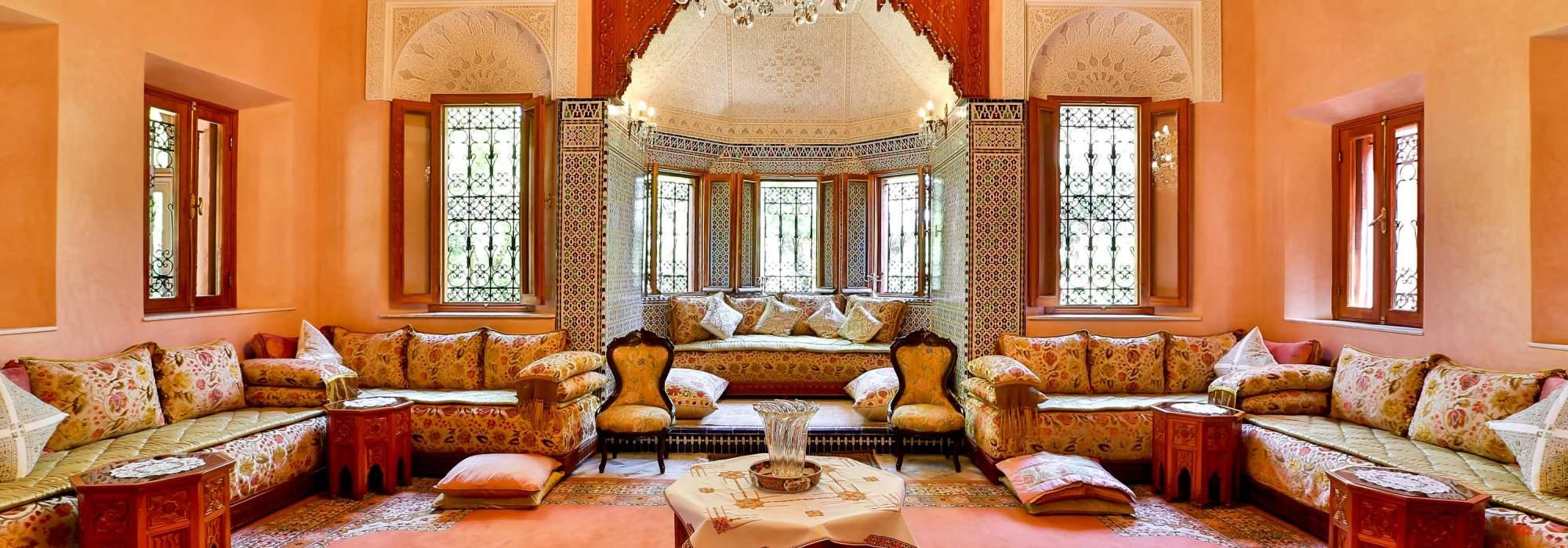 vente villa marocaine a la palmeraie marrakech