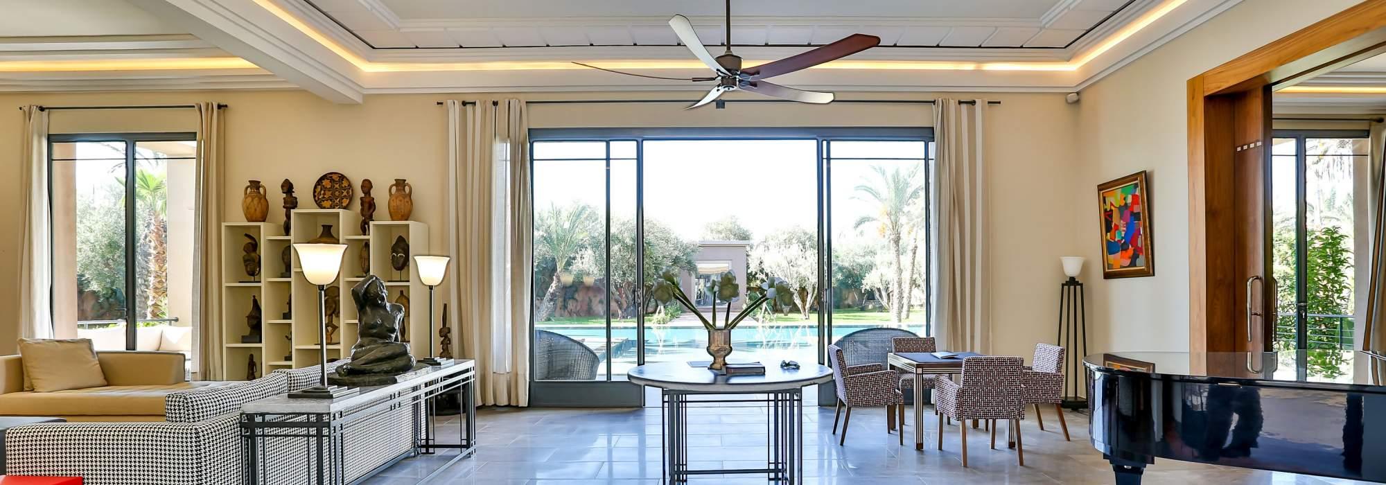 achat villa luxe amelkis marrakech