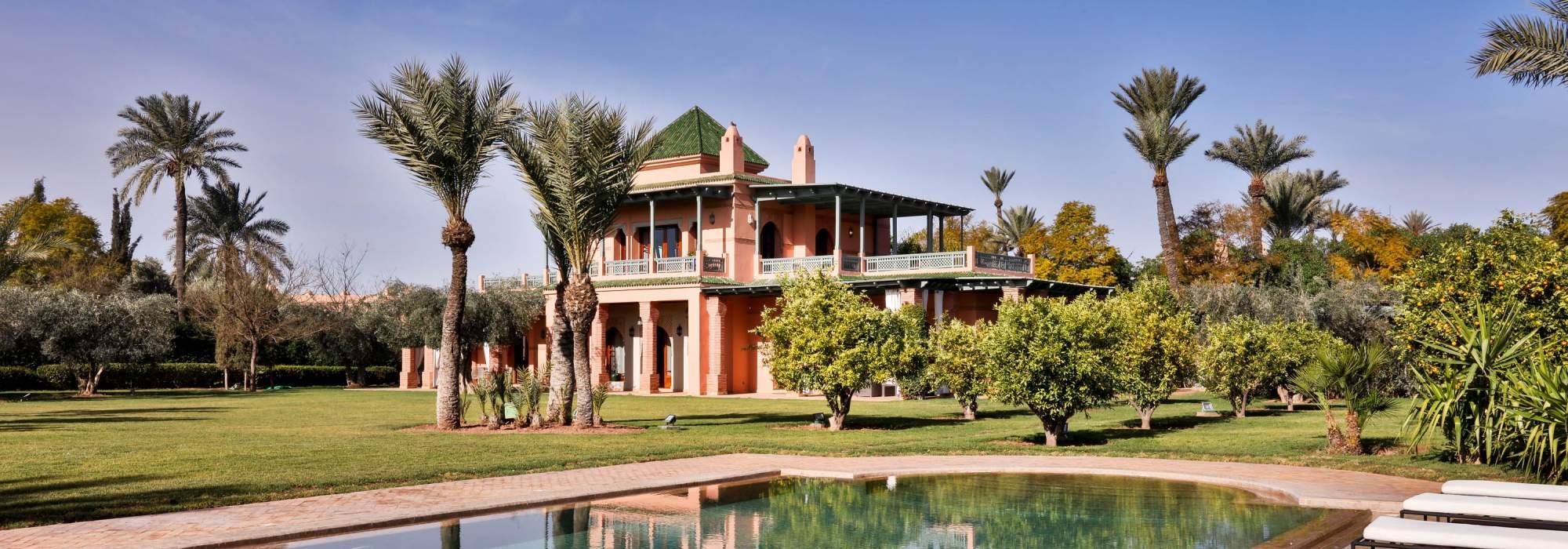 villa a vendre Sur le circuit de la palmeraie  marrakech
