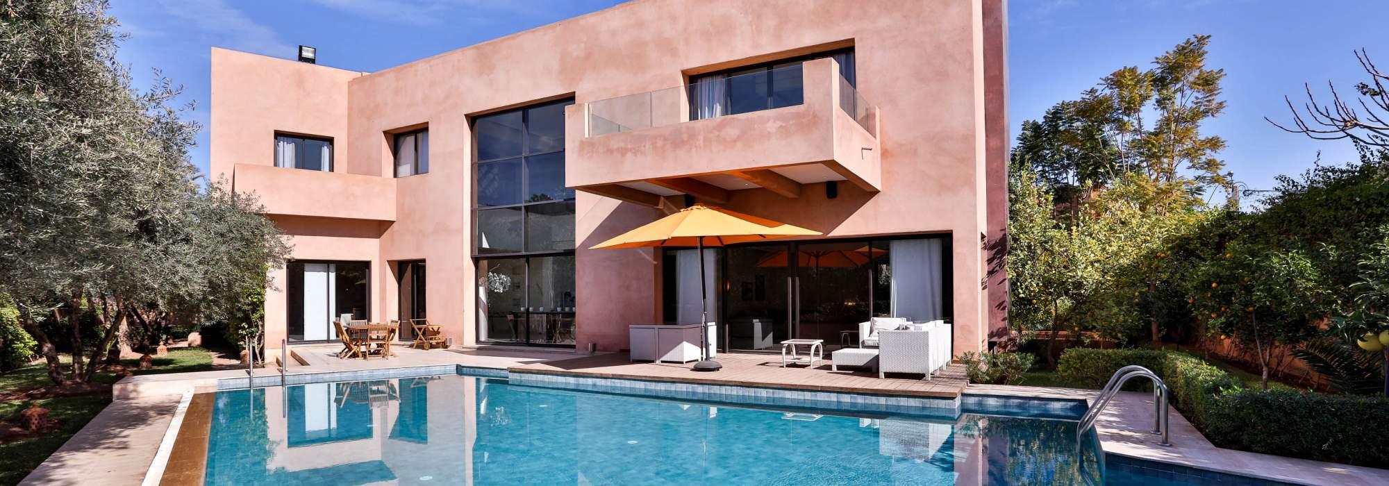 vente villa centre ville targa marrakech