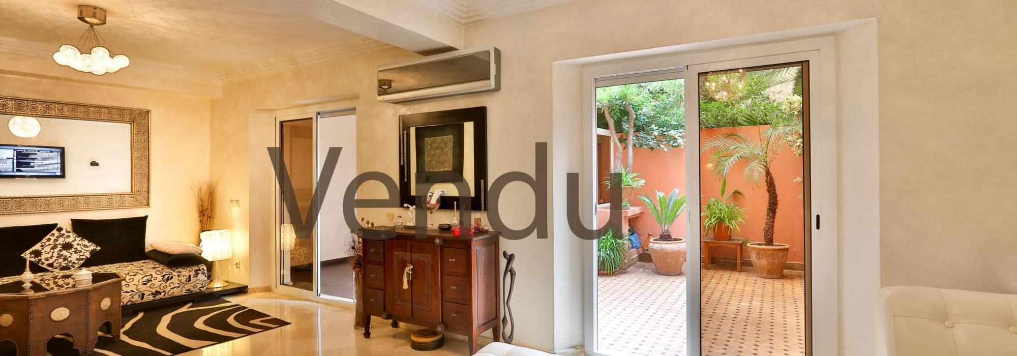 duplex a vendre centre ville marrakech