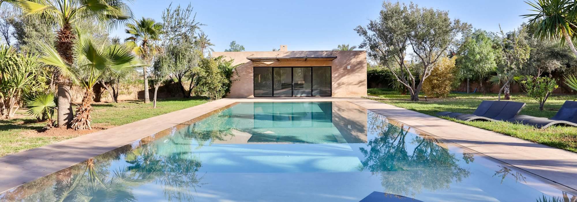 Villa Contemporaine à  vendre à la palmeraie