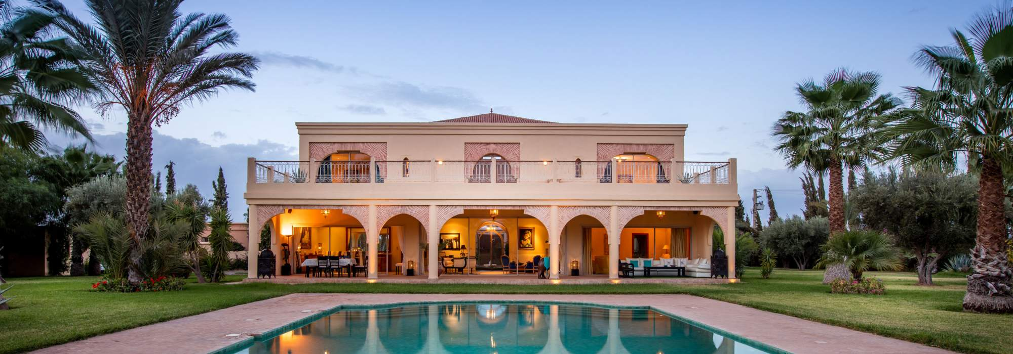 villa a vendre route d'amizmiz marrakech