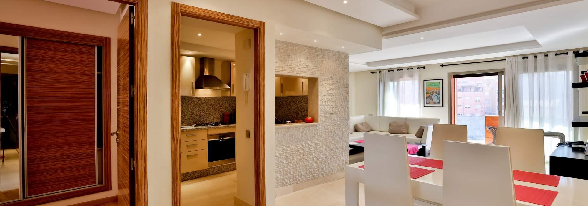 achat appartement contemporain centre ville marrakech