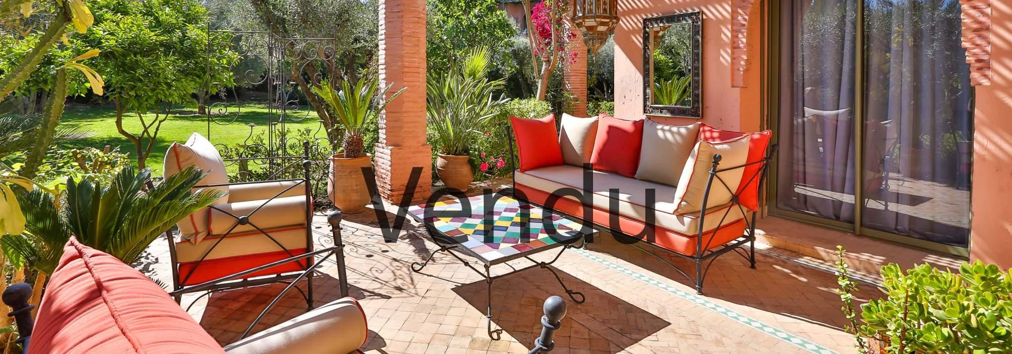 vente appartement contemporain marrakech palmeraie
