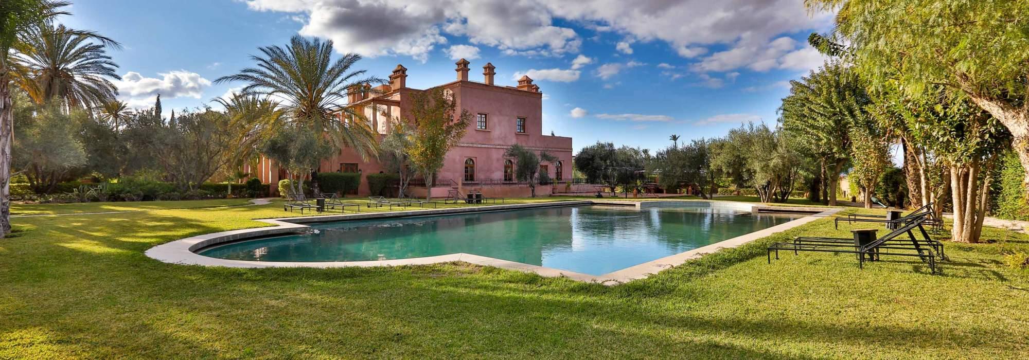 maison d hotes a vendre a la palmeraie marrakech