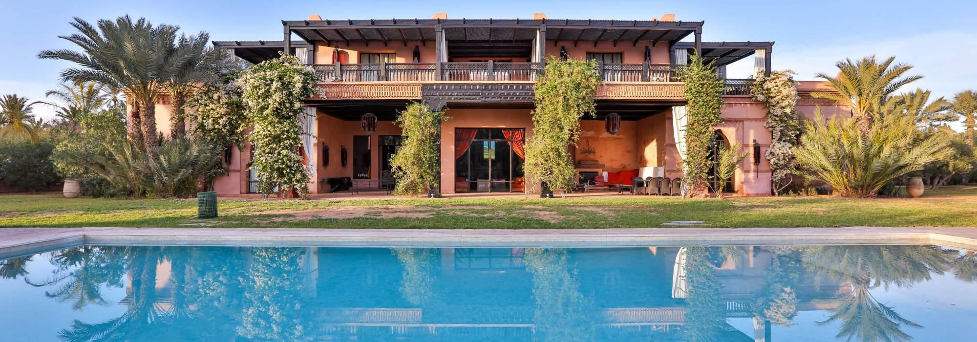villa de prestige a vendre palmeraie marrakech