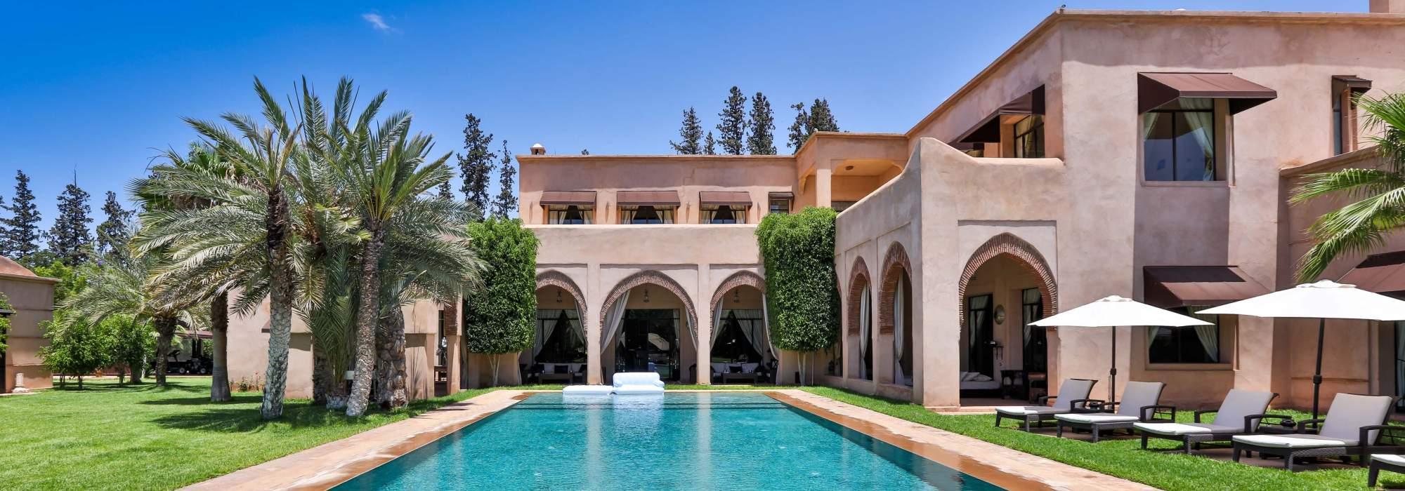villa marocaine a vendre plameraie marrakech