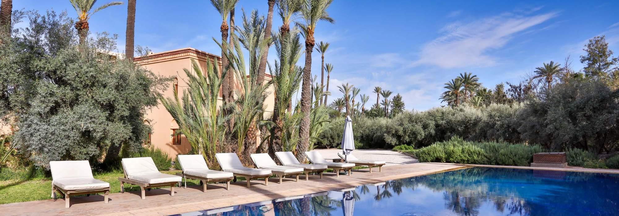 villa de luxe a vendre palmeraie marrakech