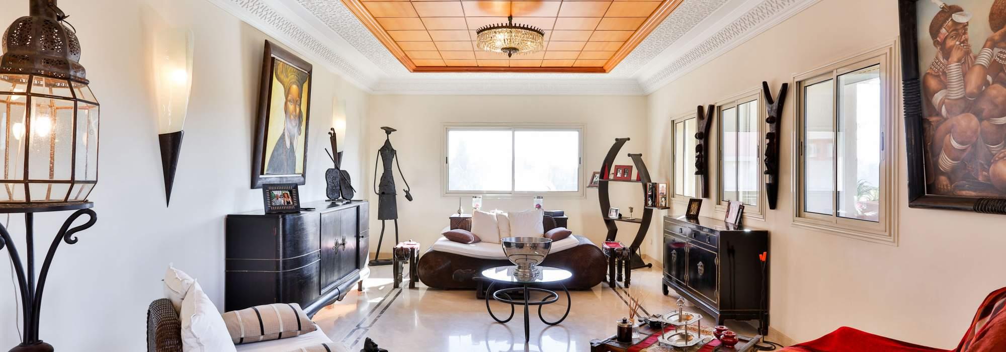 vente duplex de luxe hivernage marrakech