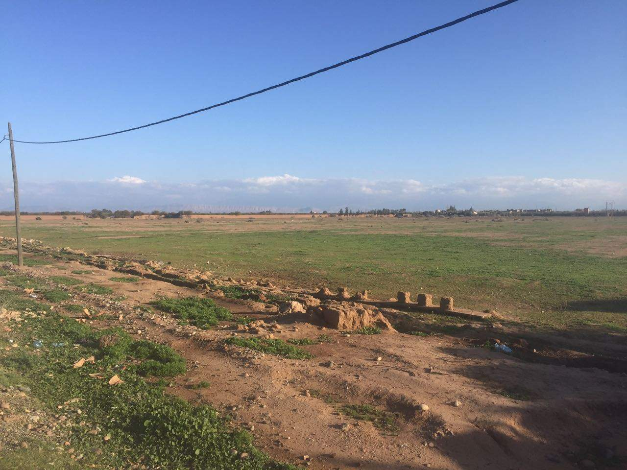Vente terrain Terrain a lotir Marrakech Extérieur Ecole américaine