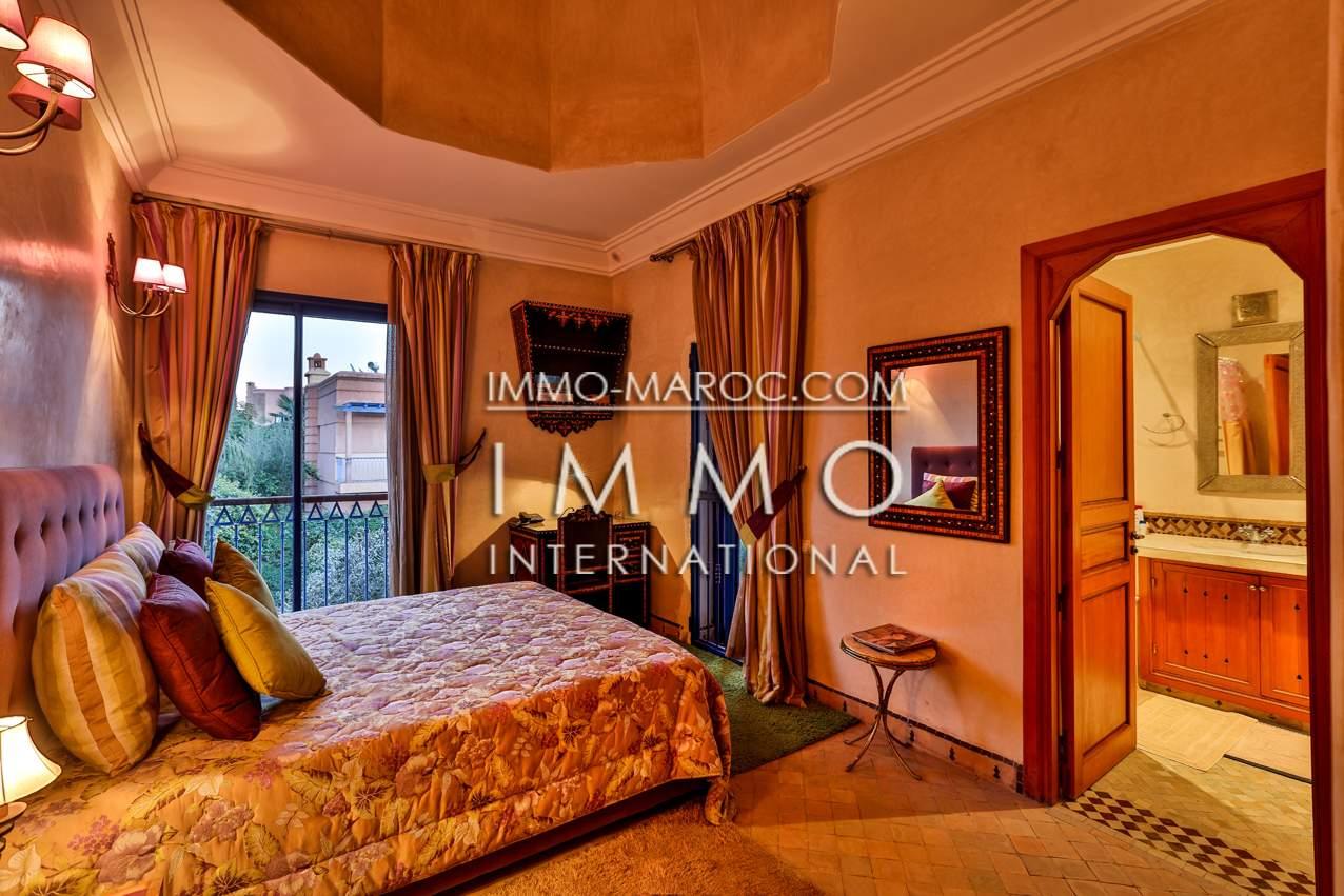Achat villa Marocain Marrakech Centre ville Route Casablanca